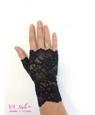 PR 133 Перчатки без пальцев черные