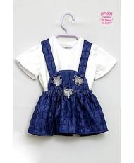 DP 006  Сарафанчик и футболка для девочки