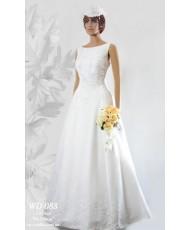 WD 088 Белое свадебное платье элегантное
