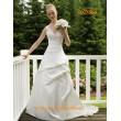 WD 064 Свадебное платье с кружевным лифом