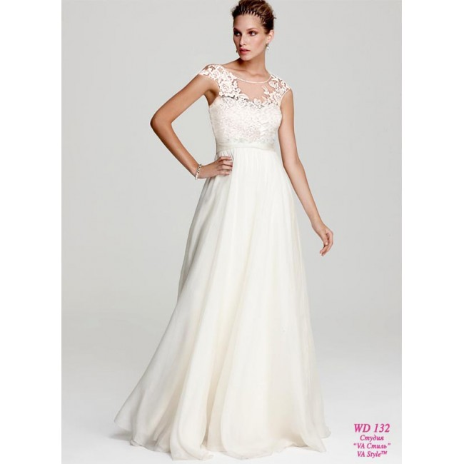 8e4d118d3dd WD 132 Шёлковое платье а-силуэт - Hatshop интернет магазин свадебные ...